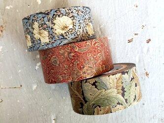 William Morris  maskingtape  (マスキングテープ) 3set+1  の画像