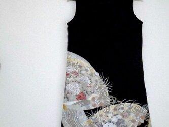 大人かっこいいワンピース  Kimono Dress LO-186/Lの画像