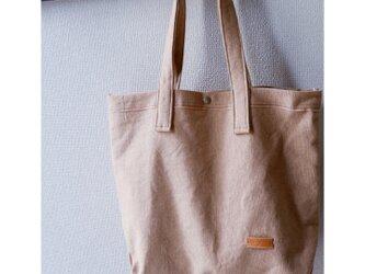 帆布トートバッグ : Lの画像