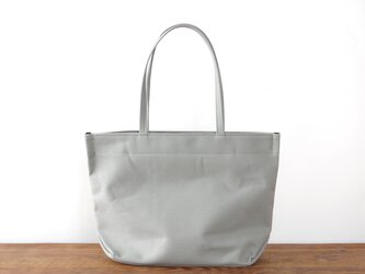 《Canvas》Simple tote Bag グレーの画像