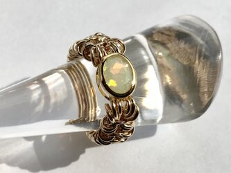 『 Galactic light ( inner ) 』Ring by K14GFの画像