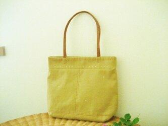 帆布のバッグ・いろづきの画像