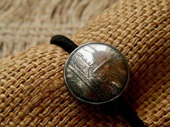 #H110 50State Quarters USA Coin Hair Elasticの画像