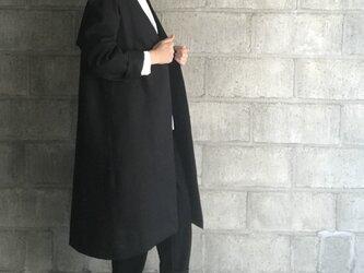 coat long (black)の画像