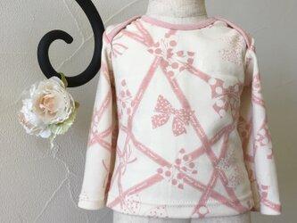 マシュマロピンク・長袖Tシャツの画像