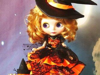 sold 萌え可愛いロリータプリンセスワンピース ハロウィンにも最適な魔女っ娘バージョンの画像