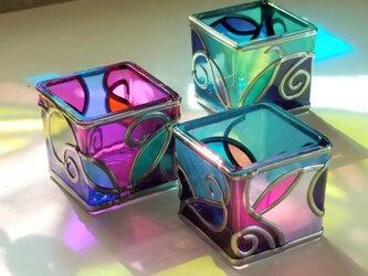 受注:LEDキャンドルお任せ3個セット 『ティンカーベルのX'mas』の画像