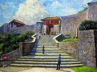 正殿への道の画像