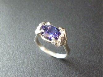 Lotus 蓮の花のリング - violetの画像