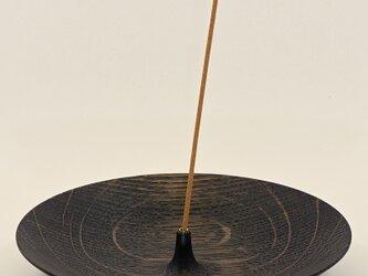 3way 木製インセンスホルダー なら鉄染めの画像