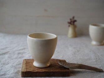 キナリ色のワインカップ No.916の画像