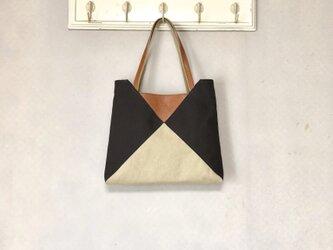 Michi  bag *トート*P〈チョコ〉の画像