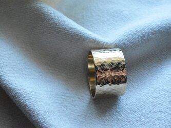真鍮リング flapper02 Wの画像