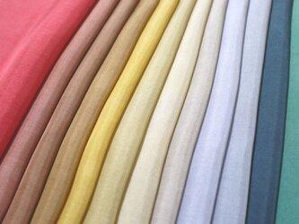 (N)正絹 胴裏 手染め12枚 はぎれセット 秋色・大人色 つまみ細工用布・吊るし飾りにの画像
