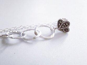 マーカサイト*silver pierce(片耳用)の画像