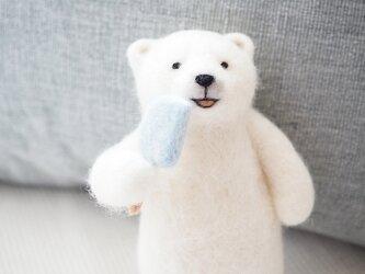 ICEしろくまシロクマの画像