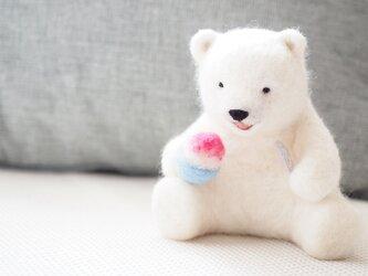 氷いちごシロクマの画像