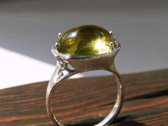 レモンクォーツ * Lemon Quartz Ringの画像