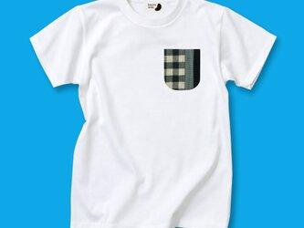 Tシャツ+ポケット beansdesignの画像