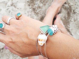【silver925】beach braceletsの画像
