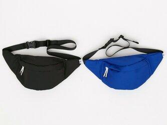 ポリエステルオックス/ウエストポーチ「 Ox/Fanny pack 2」 (Blue)の画像