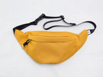 ポリエステルオックス/ウエストポーチ「 Ox/Fanny pack 2」 (Mustard)の画像