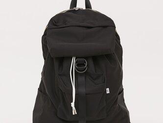 ポリエステルオックス/ラケットバッグ テニスバッグ「Ox/Racket」 (Black)の画像