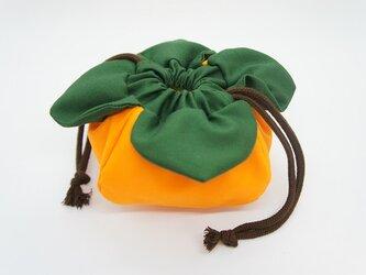 柿巾着の画像