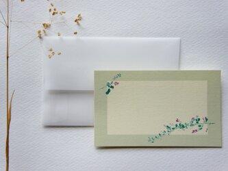 メッセージカード【萩】の画像
