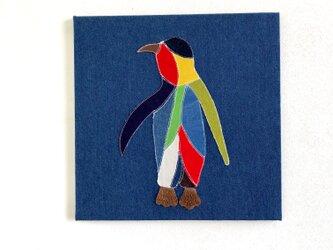 ファブリックパネル ペンギン 40×40の画像