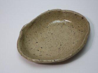 楕円豆皿   J925の画像