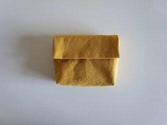きちんとポーチ M  / mustardの画像