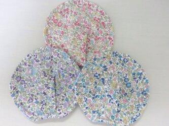 送料無料*大きめ母乳パッド*3組セット*小花柄*ドットの画像