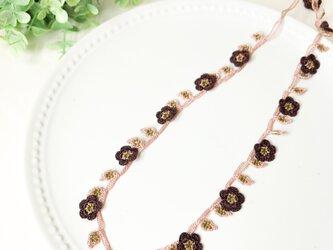 oya:mini  flower gardenロングネックレスの画像