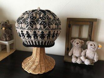 北欧トラディショナルベレー帽 【ノアール】の画像