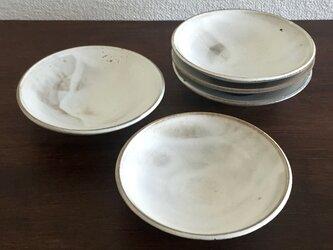 粉引 五寸皿の画像