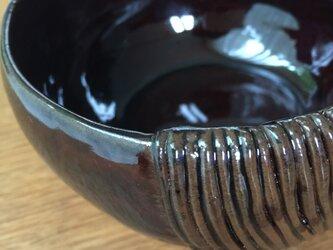 あめ釉の器(紐)の画像