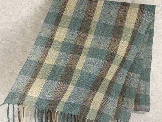 手織りストール A30の画像