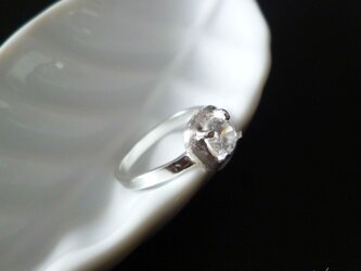 SALE= Square ring - silverの画像