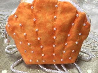 秋色シェルポーチの画像