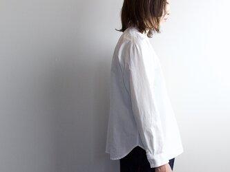 weather cloth shirt/white 再入荷しましたの画像