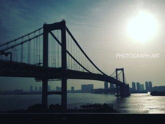 RAINBOW BRIDGE   W030   レインボーブリッジ 東京の画像