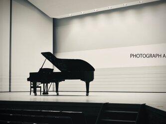 PIANO   W029   ピアノ 劇場 モノクロームの画像