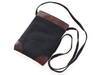 《Canvas》mini Pochette -ブラックの画像