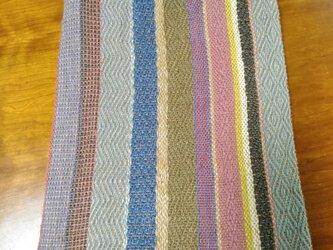 手織りジュートのサブバッグ Bの画像