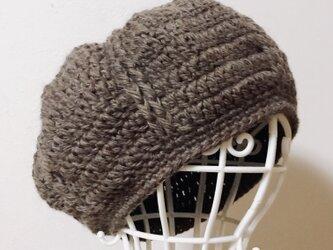 Sold out ‼️ウールまぁるいニット帽の画像