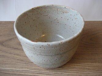 志野鉢 筒茶碗型の画像