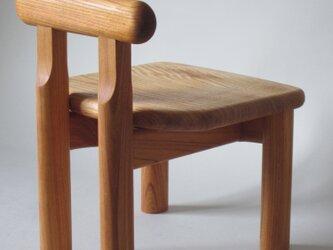 子供椅子■NAGY 018-OKO・ST■ W250xD265xH330(SH192)の画像