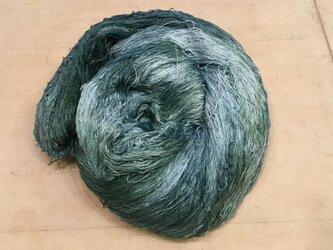 【手染め糸の販売です✨】  ナイロン フェザーヤーン 250gの画像