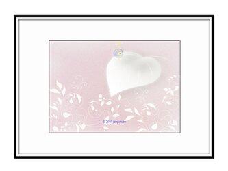 「たおやか」 ほっこり癒しのイラストA4サイズポスターNo.694の画像